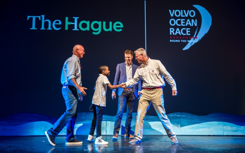 Volvo ocean race Plugged Live Shows